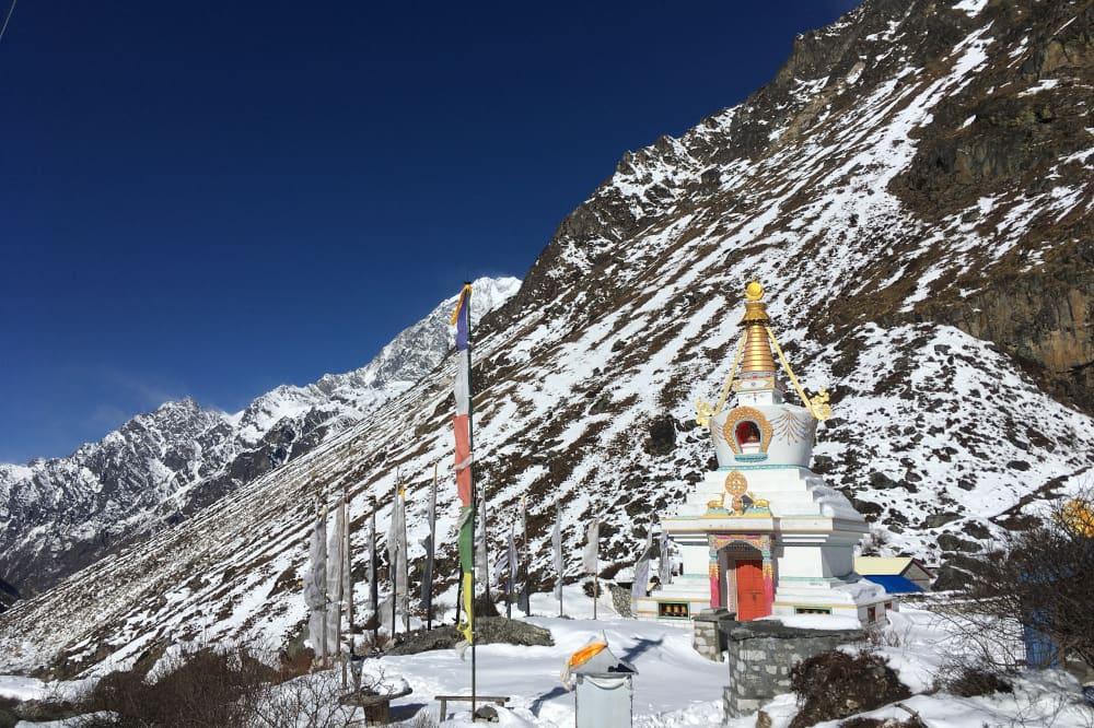 Temple - Vallée du Langtang