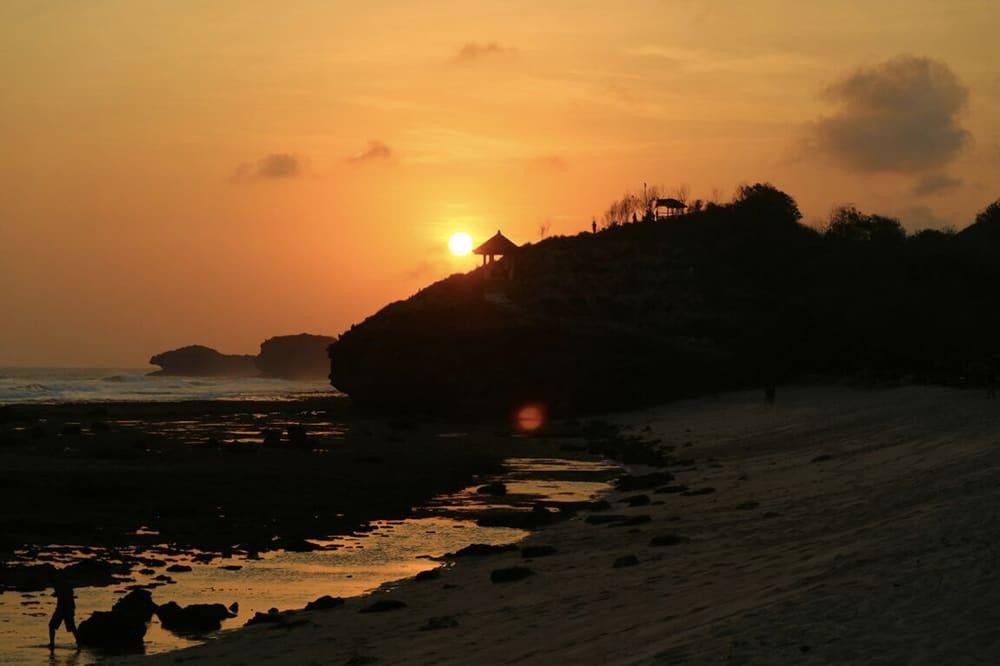 Watukarung sunset - Java - Indonésie