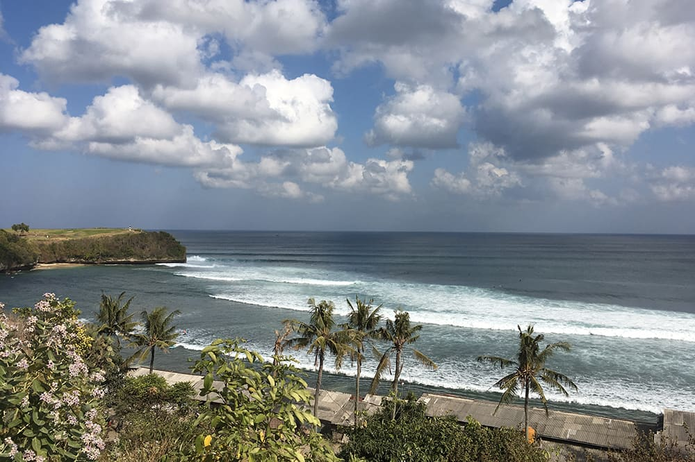 La plage de Balangan