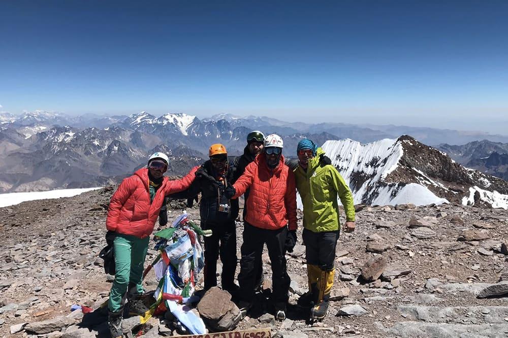 Aconcagua, le sommet des Amériques