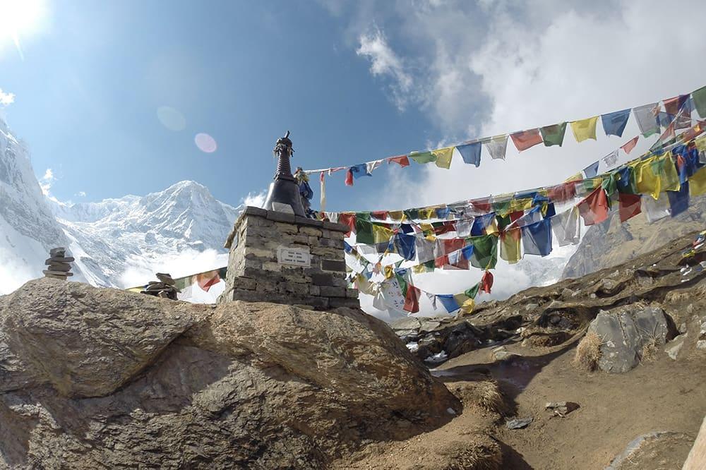 Temple au Népal