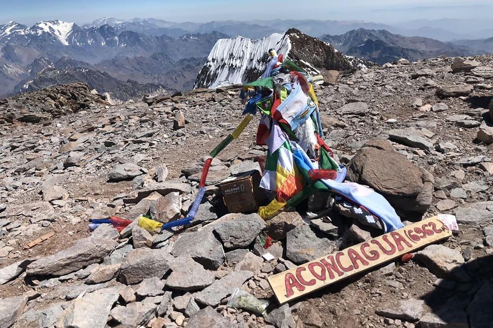 Sommet Aconcagua