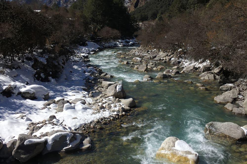 Rivière - Vallée du Langtang