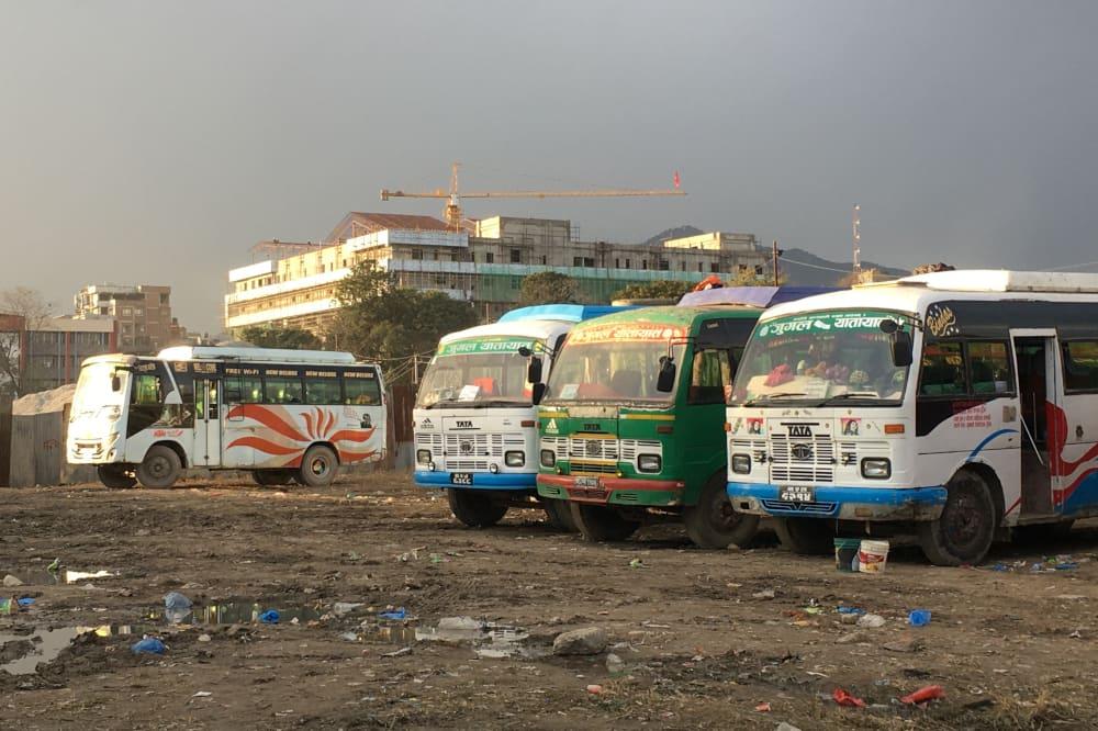 Bus - katmandou