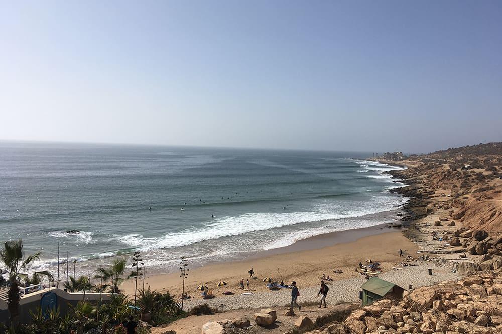 Plage Taghazout - Maroc