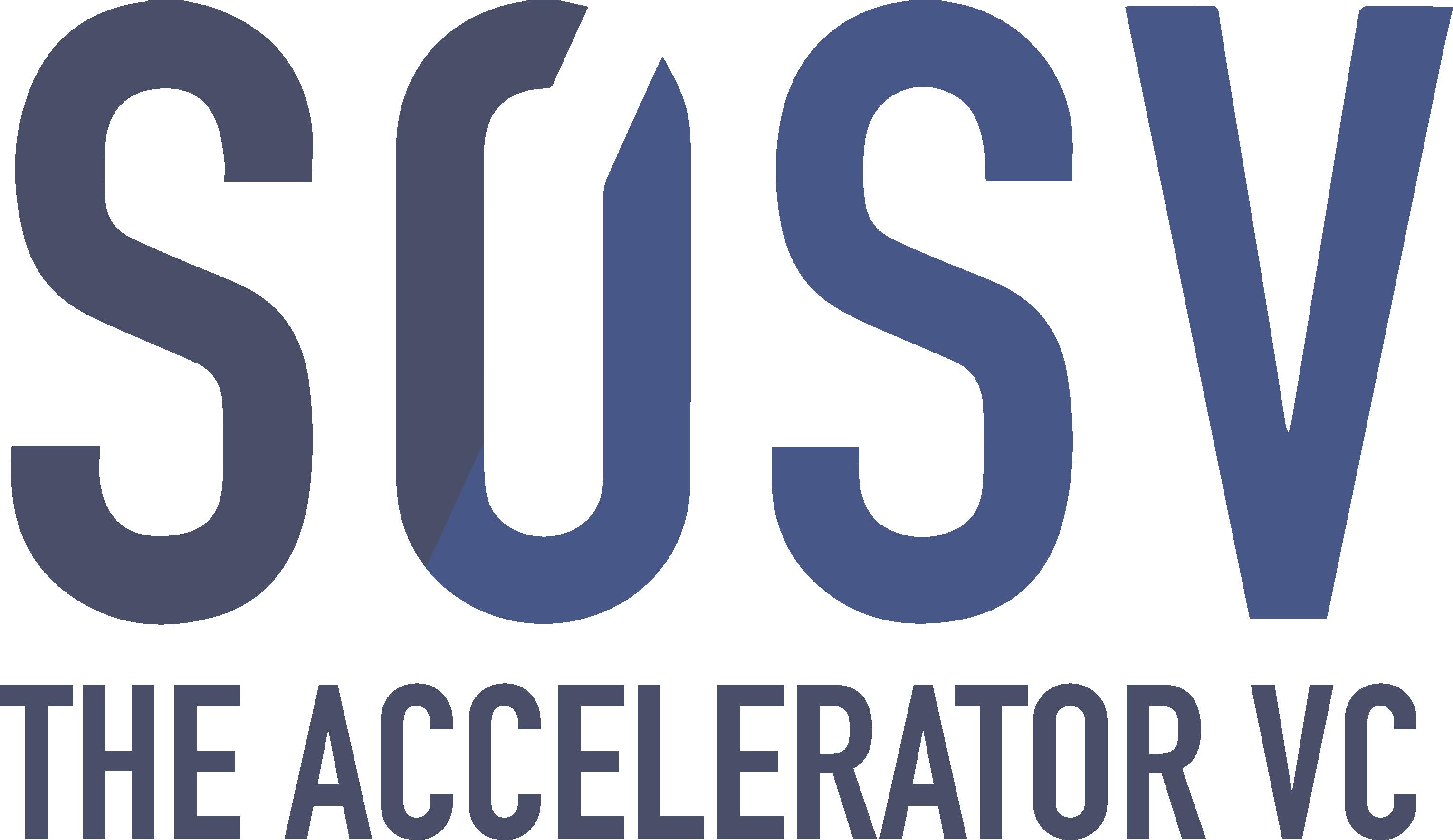 sosv the accelerator logo