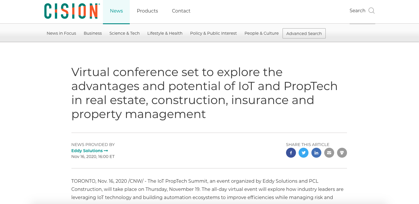 Cision Argentum article