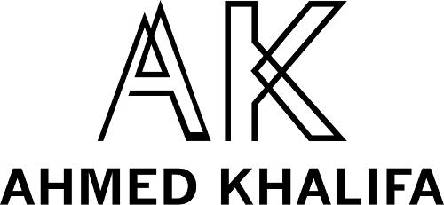 Geometric 'AK' logo