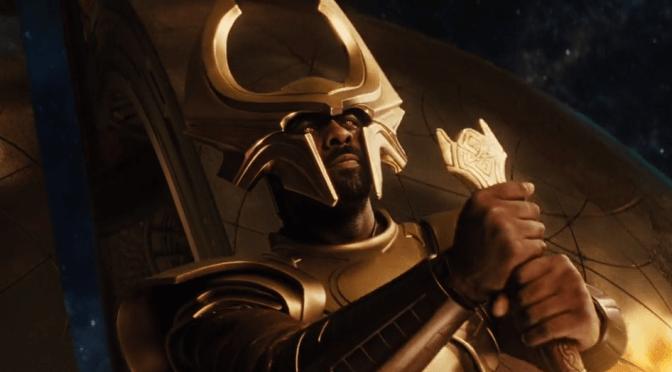 Heimdall the gatekeeper in Thor