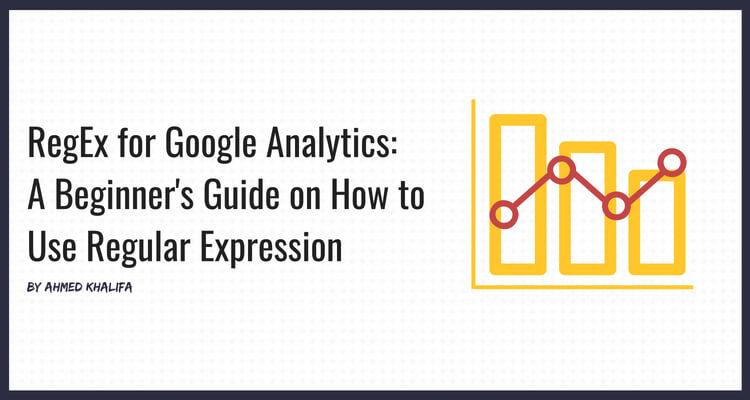 Blog header image for Regex for Google Analytics