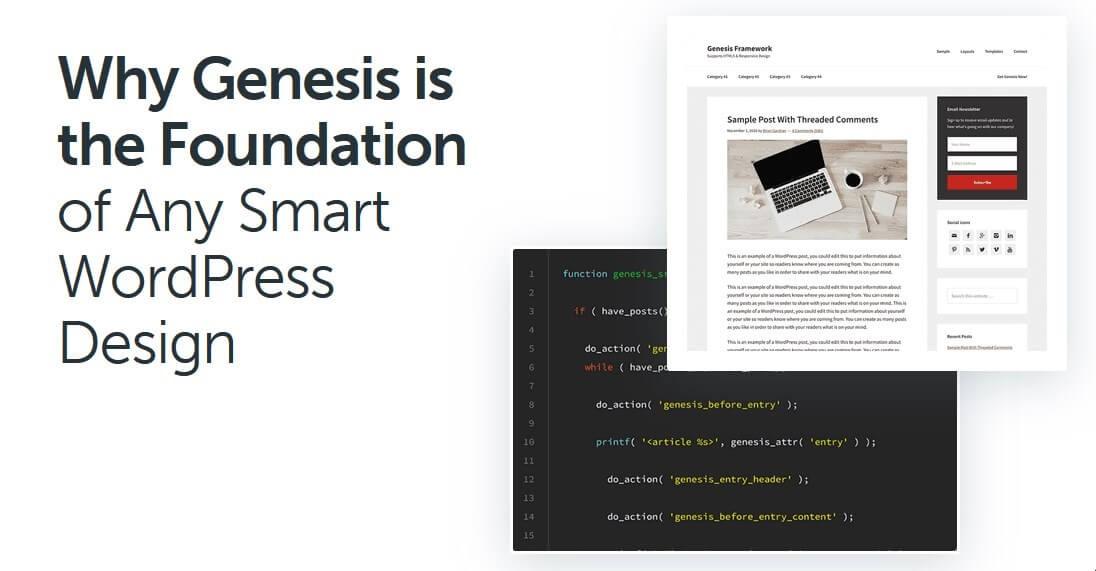screenshot of Genesis framework