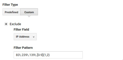 How to use Curly Brackets as Regex on Google Analytics