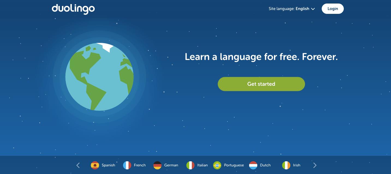 language learning apps like Duolingo