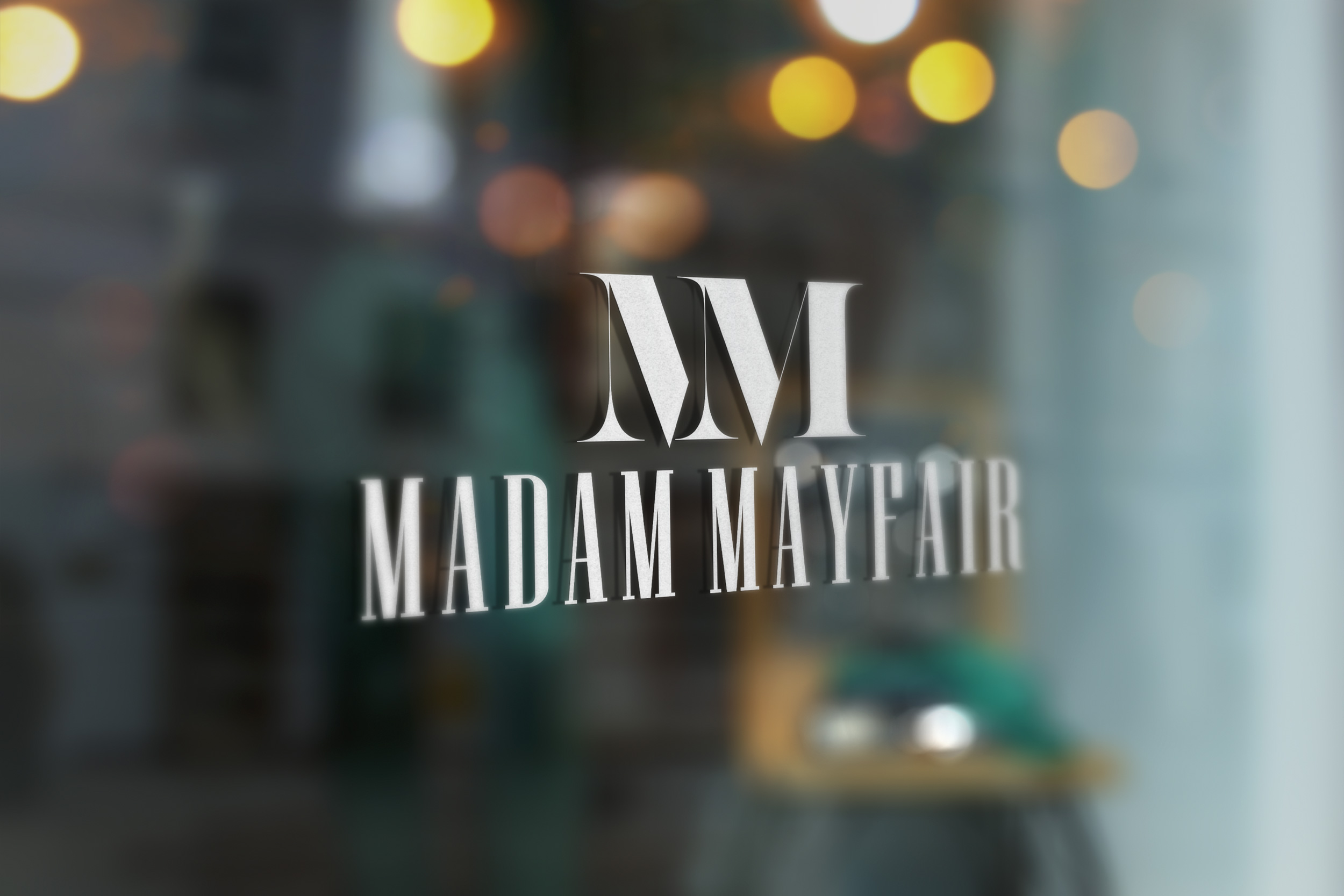 madam mayfair logo design by Carl Gamble