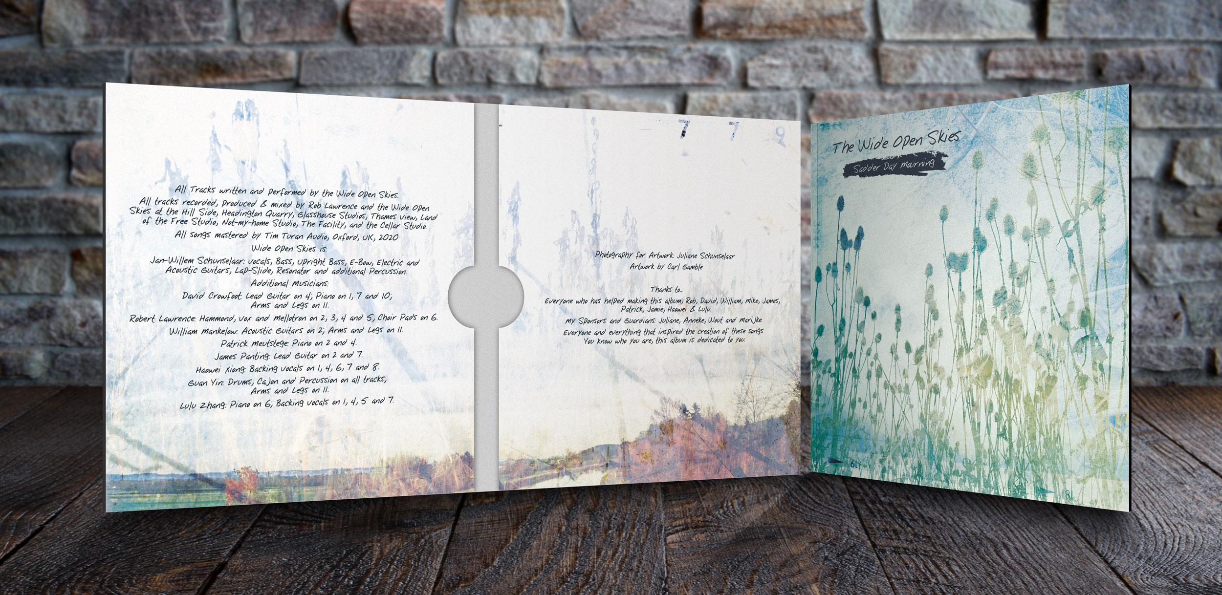 cd album cover art design and print