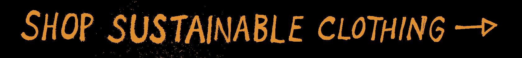 Shop sustainable Clothing Button Orange