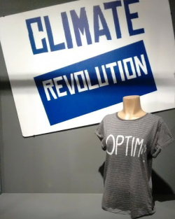 Climate Revolution at Tshirt Cult Culture Subversion exhibition
