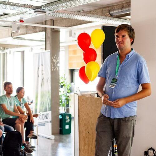 Foto do nosso CSO Christoph Heuermann