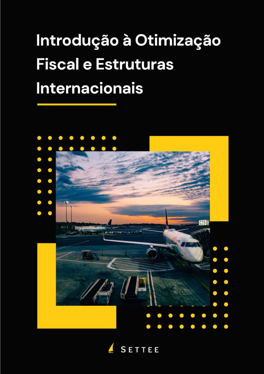 """Capa do E-book """"Introdução à Otimização Fiscal e Estruturas Internacionais"""""""