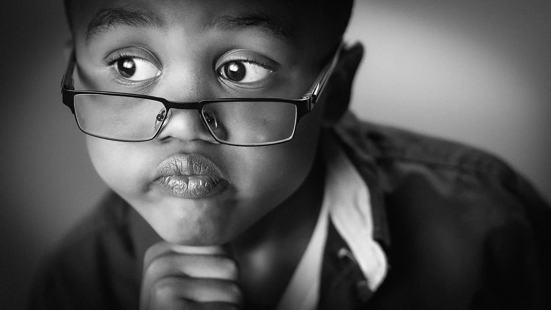 Child Portrait by Will Crockett