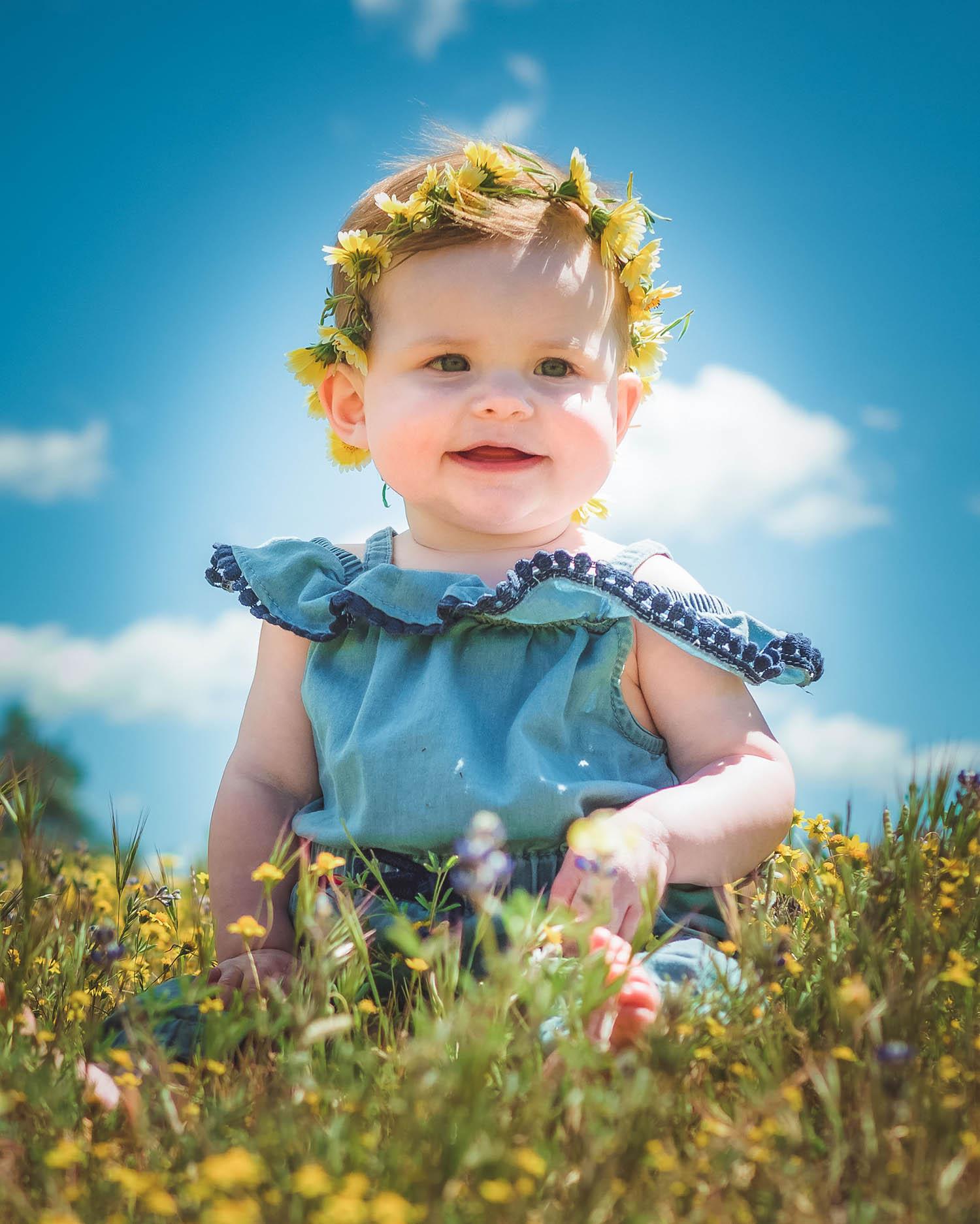Baby Portrait by Will Crockett