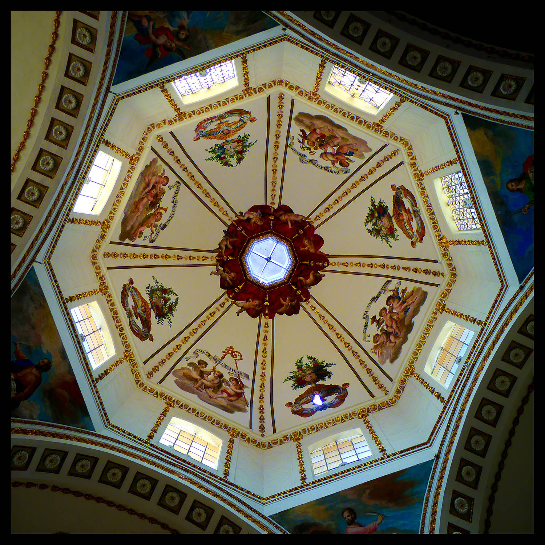 Iglesia Sangre de Cristo, Oaxaca, Mexico by Will Crockett