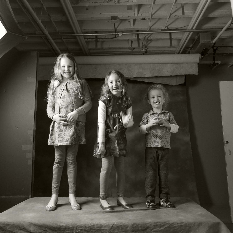 Grandkids photographed by Will Crockett