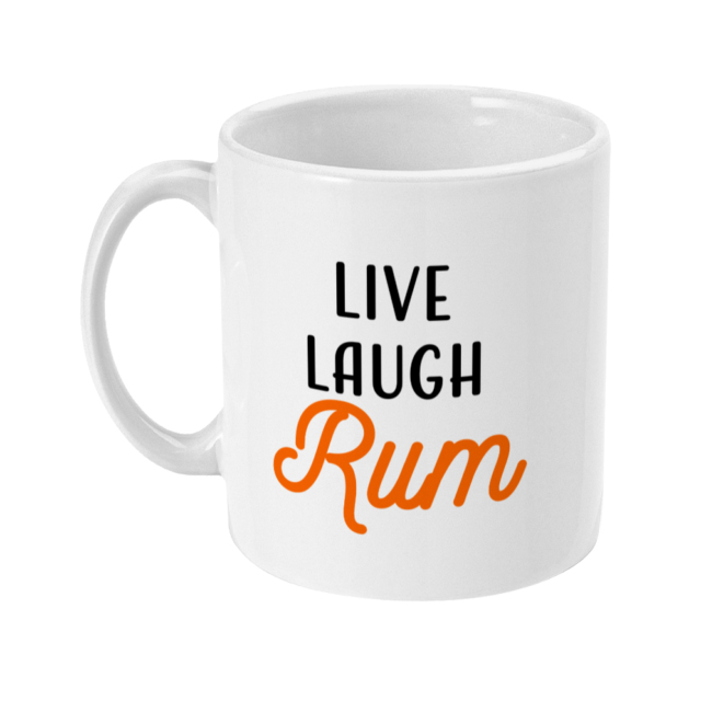 Live, Laugh, Rum 11oz Mug