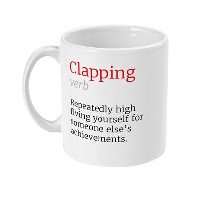 Clapping Honest Definition Funny Office 11oz Mug