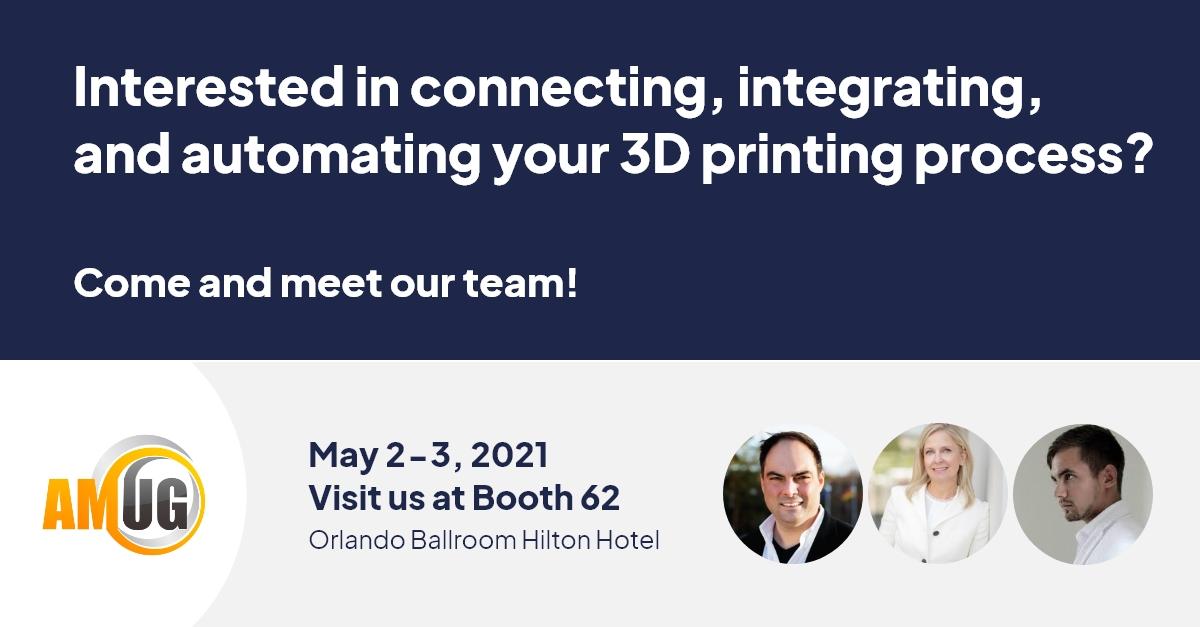 Meet 3D Control Systems at AMUG May 2-6, 2021 , Booth 62