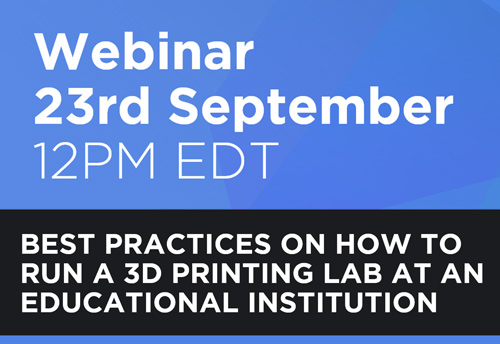The Best Practices on How to Run a 3D Printing Lab at an Educational Institution
