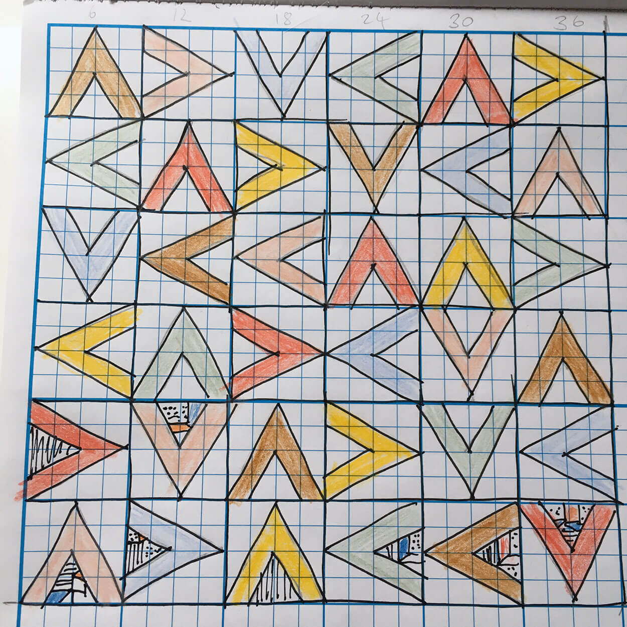 MA Quilts process