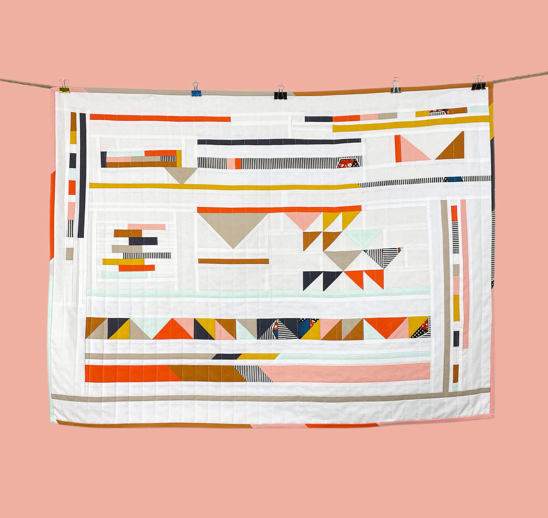 MA Quilts bold and geometric
