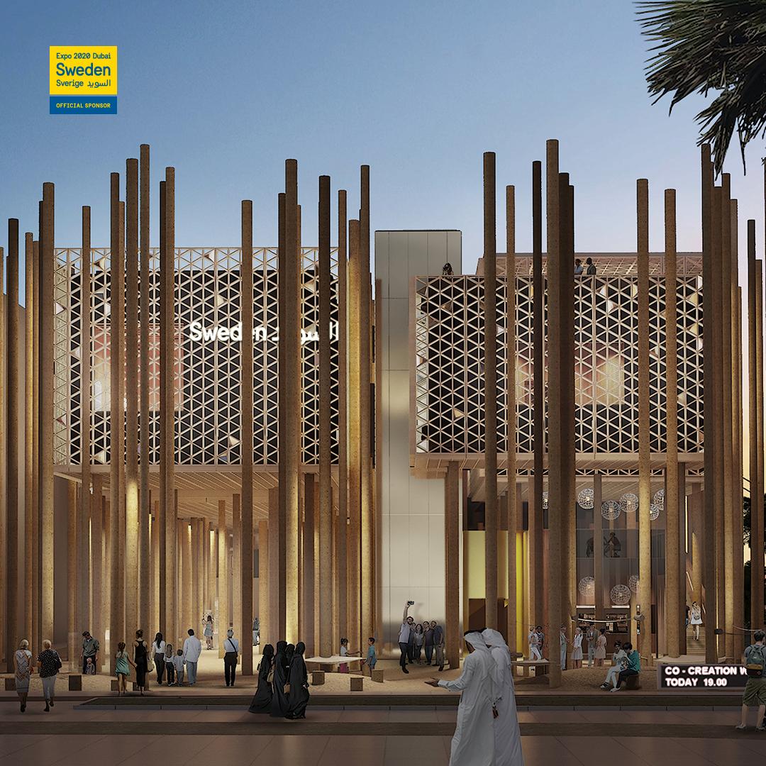 Svenska paviljongen Expo Dubai