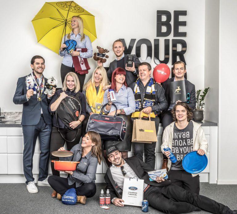 Profilservice Linköping, merchandise and promotion produts