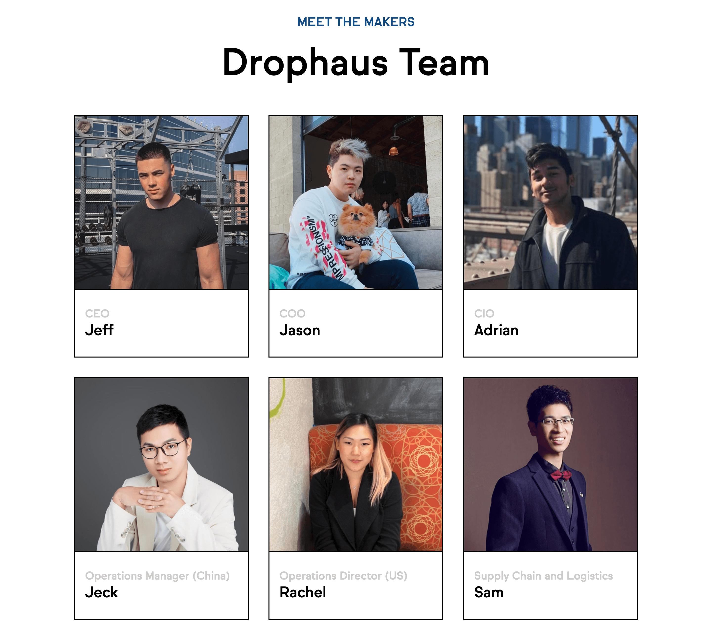 Drophaus Team Screenshot