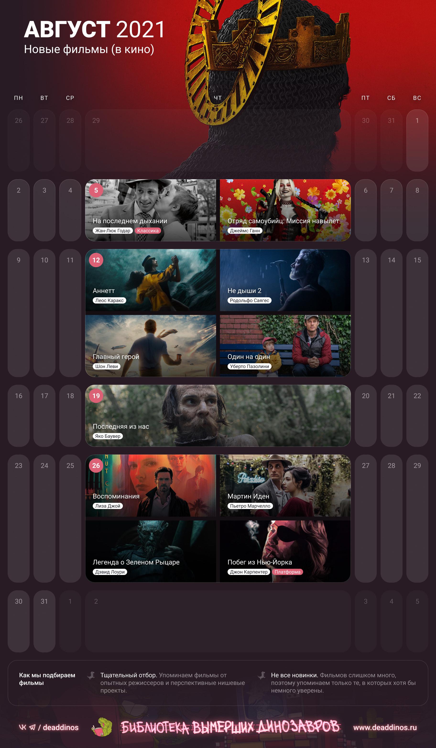 Фильмы в кино