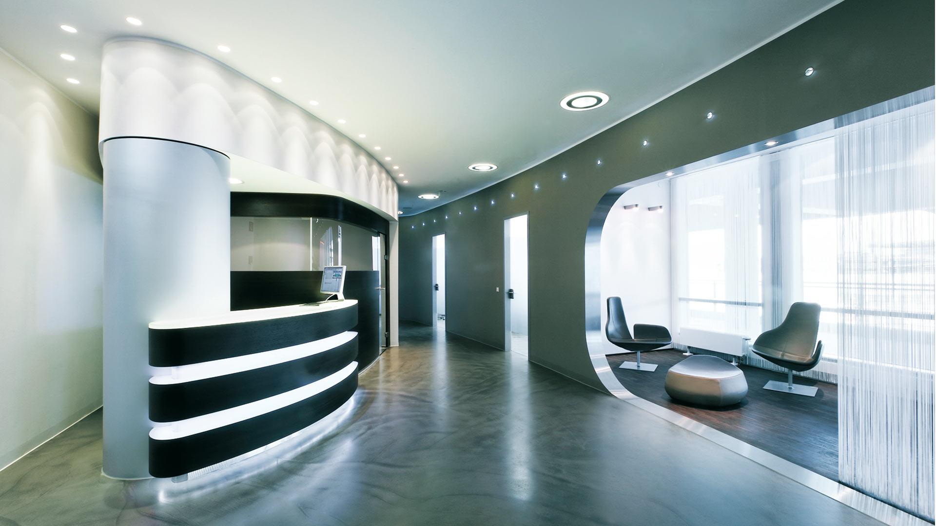 Z-MVZ dental suite Köln/Bonn Airport - Empfang