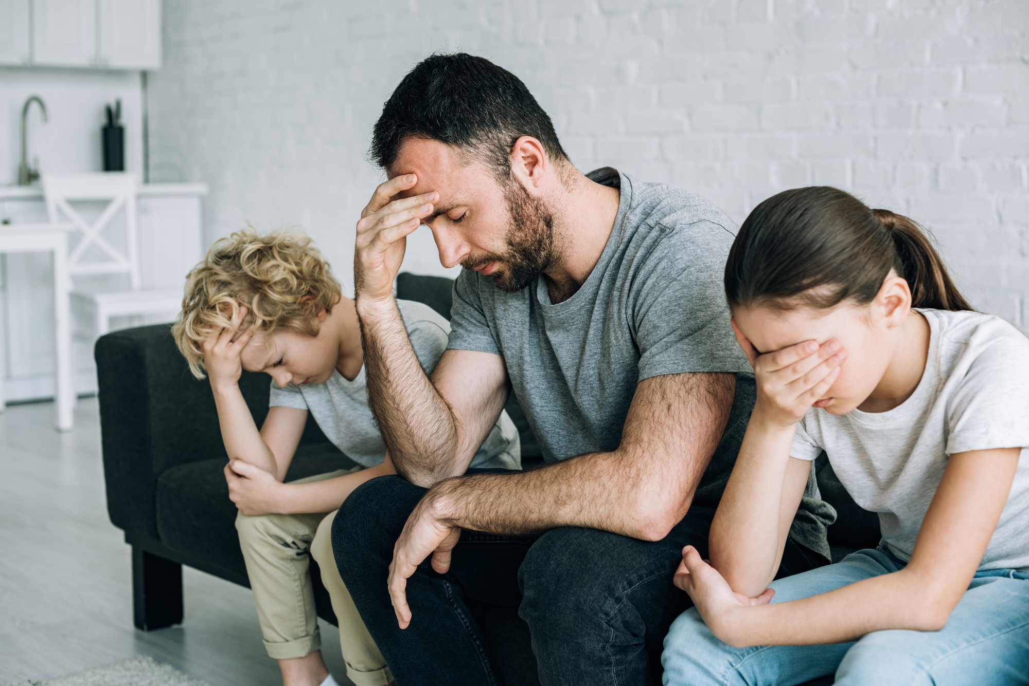 familia triste