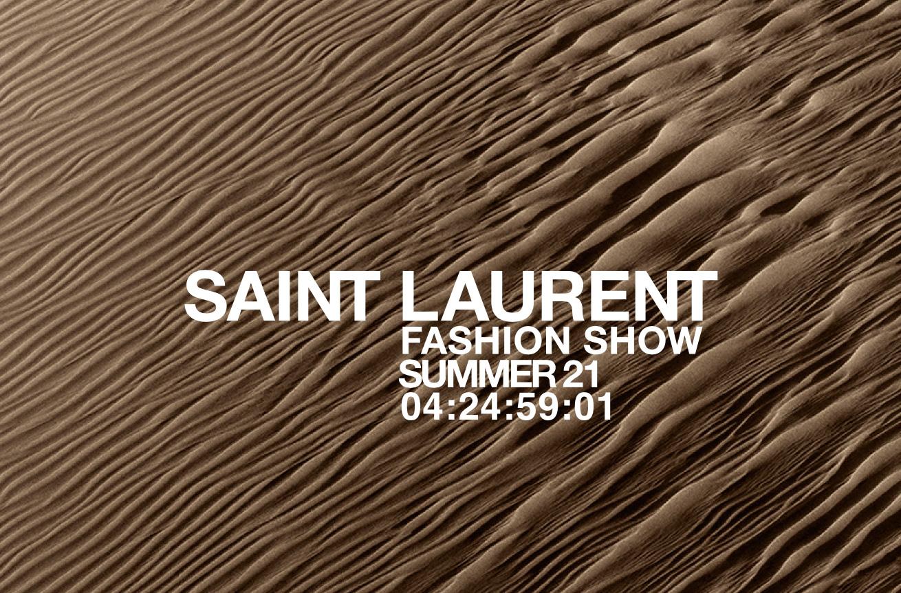 watch the saint laurent summer '21 show live
