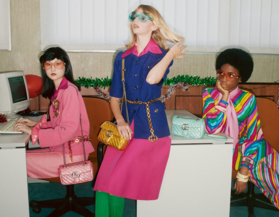 gucci releases their annual holiday gift film
