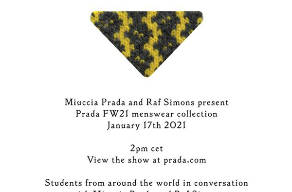 watch the prada menswear aw21 show live tonight