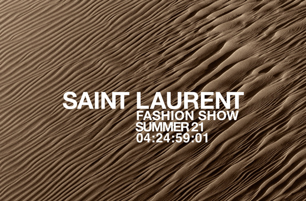 watch the saint laurent summer '21 show live