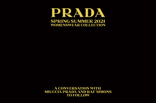 watch the prada show tonight live from milan