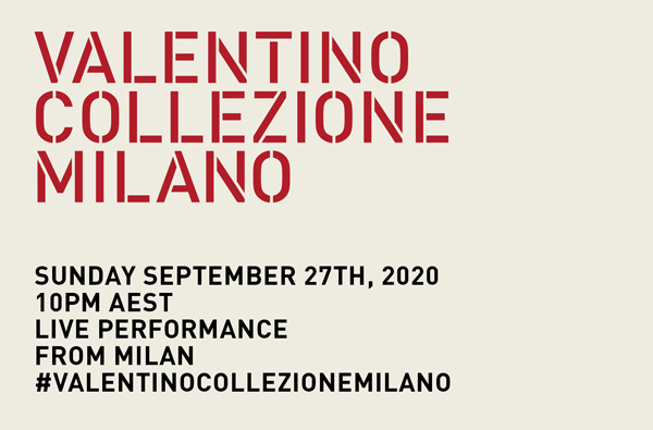 watch the valentino ss21 show live from milan