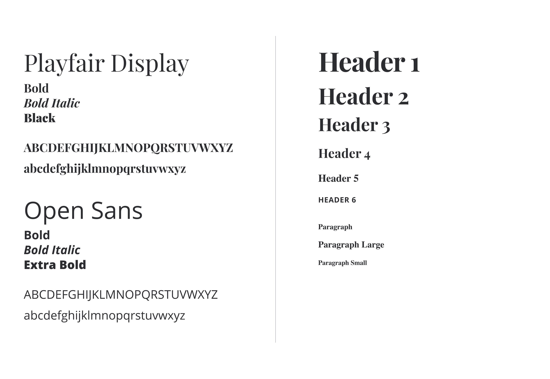 Typography for BTP