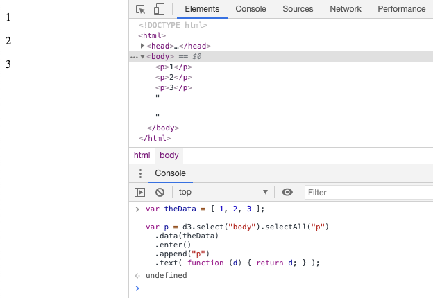 Use D3.js Bound Data From DOM Elements