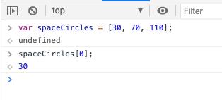 JavaScript array zero-index first element