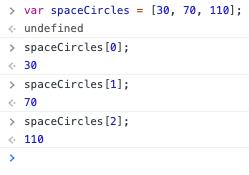 JavaScript array zero-index third element