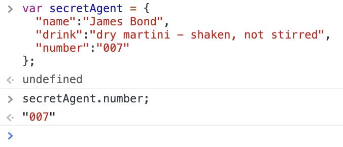 JSON Object Key Value Pair